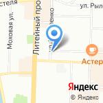 Первая Федеральная Грузовая Компания на карте Санкт-Петербурга