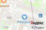 Схема проезда до компании Питер Проф в Санкт-Петербурге