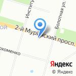 Фирма ЕВРОСЕРВИС на карте Санкт-Петербурга