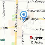 ГарантЪ на карте Санкт-Петербурга