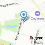 Департамент лесного хозяйства по Северо-Западному федеральному округу на карте Санкт-Петербурга