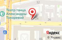Схема проезда до компании Билеткасса.Ру в Санкт-Петербурге