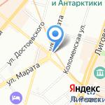 АСТ-Санкт-Петербург на карте Санкт-Петербурга