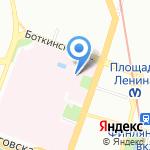 Консультативно-диагностический центр на карте Санкт-Петербурга