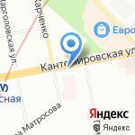К-33 на карте Санкт-Петербурга