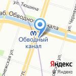 Магазин лепешек из тандыра на карте Санкт-Петербурга