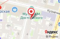 Схема проезда до компании Гиперборея в Санкт-Петербурге