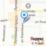 Управляющая компания Объединенных резервных фондов на карте Санкт-Петербурга