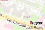 Схема проезда до компании Балтийский банк, ПАО в Санкт-Петербурге