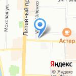 Витан на карте Санкт-Петербурга