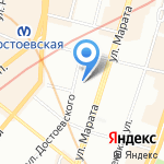 Aragosta на карте Санкт-Петербурга
