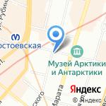 Красивые зубки на карте Санкт-Петербурга