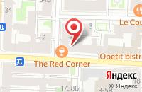 Схема проезда до компании Юриком в Белгороде