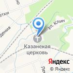 Часовня на карте Санкт-Петербурга