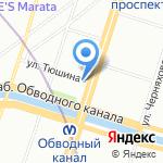 Главное следственное управление ГУВД г. Санкт-Петербурга и Ленинградской области на карте Санкт-Петербурга