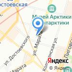 Евротекс Раша на карте Санкт-Петербурга
