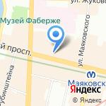 Союз театральных деятелей РФ на карте Санкт-Петербурга