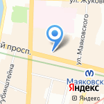 Denima Tour на карте Санкт-Петербурга