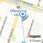 Школа №153 на карте Санкт-Петербурга