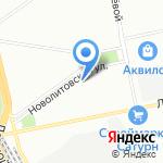 Менахем на карте Санкт-Петербурга