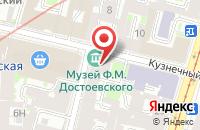 Схема проезда до компании Цертус в Санкт-Петербурге