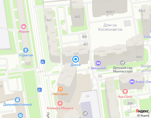 Товарищество собственников жилья «Пулковская 6-3» на карте Санкт-Петербурга