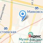 Остеоздрав на карте Санкт-Петербурга