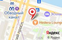 Схема проезда до компании Уникум в Санкт-Петербурге
