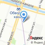 MobilkaSpb на карте Санкт-Петербурга