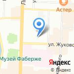 Реал на карте Санкт-Петербурга