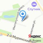 Центр защиты леса Ленинградской области на карте Санкт-Петербурга