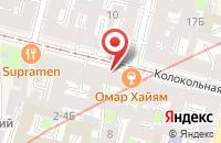 Схема проезда до компании Конструкторское Бюро Подъемно-Транспортного Оборудования Риалекс в Санкт-Петербурге