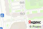 Схема проезда до компании Шато в Санкт-Петербурге