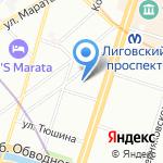 Alfa Mobil на карте Санкт-Петербурга