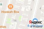 Схема проезда до компании Fresh Smoke Bar в Санкт-Петербурге