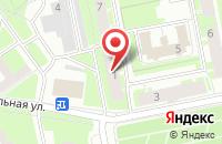 Схема проезда до компании Телецентр в Санкт-Петербурге