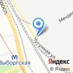 СмартФудс на карте Санкт-Петербурга