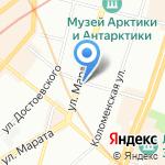 Грация на карте Санкт-Петербурга