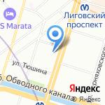 Электронная альтернатива на карте Санкт-Петербурга