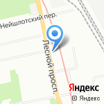 Храм-часовня Иконы Божией Матери Неопалимая Купина на карте Санкт-Петербурга