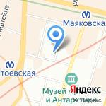 MIRRA на карте Санкт-Петербурга