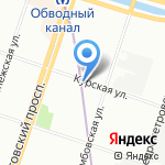 Проект-Технология на карте Санкт-Петербурга