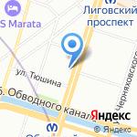 Межрегиональный центр адвокатской консультации на карте Санкт-Петербурга