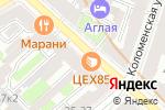 Схема проезда до компании Ватрушка в Санкт-Петербурге