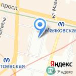 LN Family на карте Санкт-Петербурга