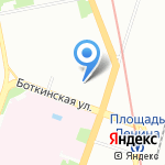 Арбо+ на карте Санкт-Петербурга