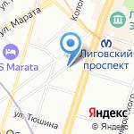 ЛабПоинт на карте Санкт-Петербурга