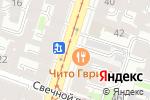 Схема проезда до компании Успешный чемодан в Санкт-Петербурге