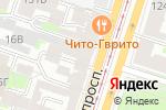 Схема проезда до компании Межрегиональный центр адвокатской консультации в Санкт-Петербурге