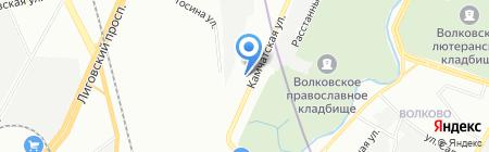 ВАП Транс на карте Санкт-Петербурга